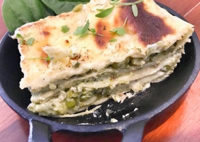 Zucchini, Pea & Mint Lasagne