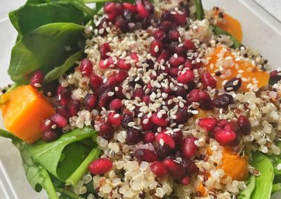 Pomegranate & Pumpkin Salad