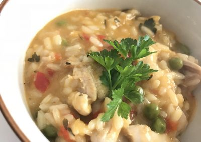 Chicken and Apricot Risotto