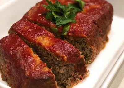 Tomato Glazed Meatloaf