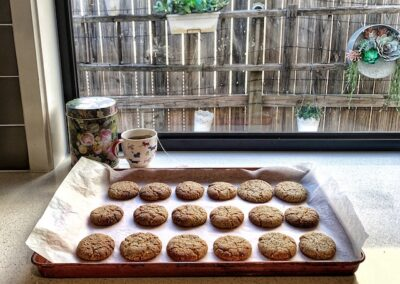 Rolled Oat and Coconut Biscuits