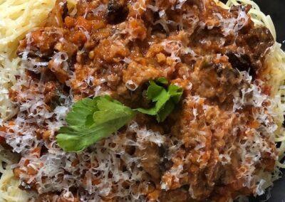 Vegetarian Bolognaise